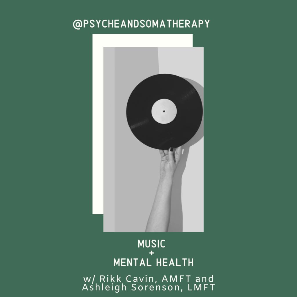 music + mental health